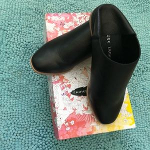 Chinese Laundry booties/mules.